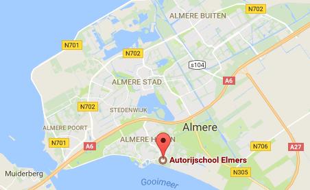 Elmers Rijschool Locatie